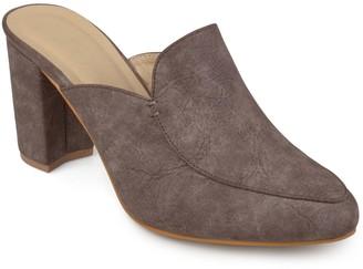 Journee Collection Trove Women's High Heel Mules