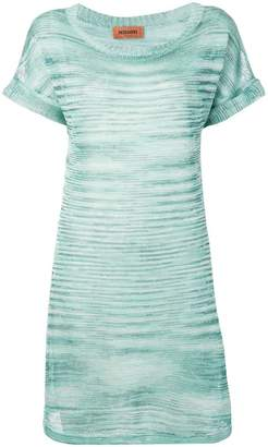 Missoni melange fine knit dress