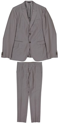 Jil Sander Grey Wool Suits
