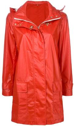 Fay straight-fit raincoat