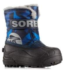 Sorel Boy's Snow Commander Faux Fur Accented Boots