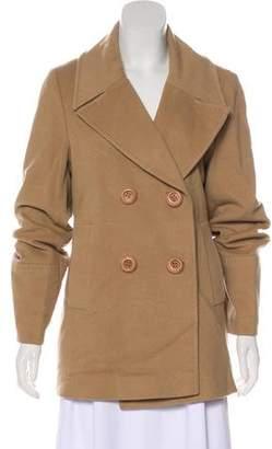 Fleurette Structured Button-Up Coat