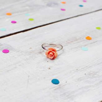Onetenzeroseven Rose Flower Ring