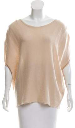 Calypso Cashmere Oversize Sleeveless Top