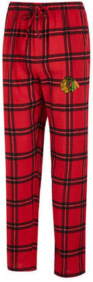 Concepts Sport Men's Chicago Blackhawks Homestretch Flannel Pajama Pants