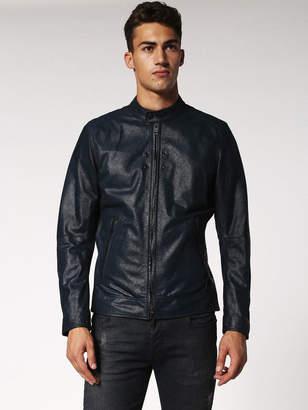 Diesel Leather jackets 0QARG - Blue - L
