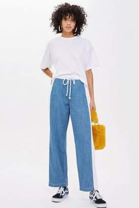 Topshop Colour Block Lightweight Jeans