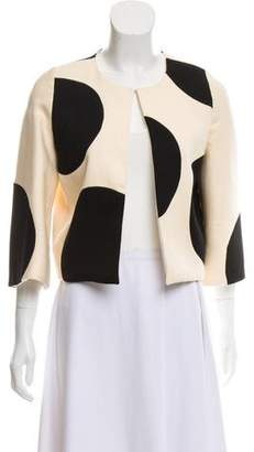 Edward Achour Wool Printed Jacket