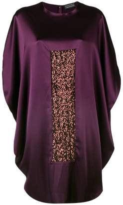 Gianluca Capannolo batwing sleeves short dress