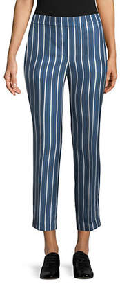 Theory Pull-On Silk Trousers