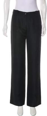 Versace Mid-Rise Flare Trouser