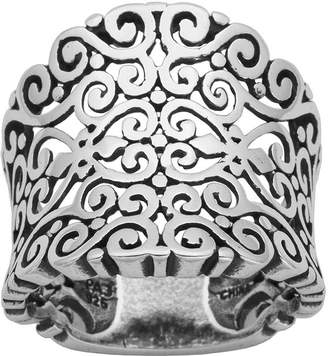 FINE JEWELRY Sterling Silver Filigree Ring