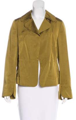 Akris Punto Open Front Collared Jacket