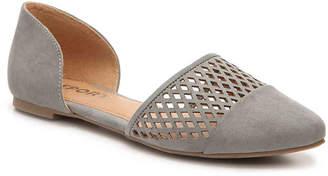 Women's Bosen Flat -Light Pink $45 thestylecure.com