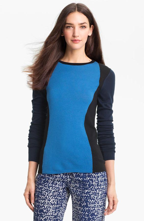 Diane von Furstenberg 'Alex' Silk & Cashmere Sweater