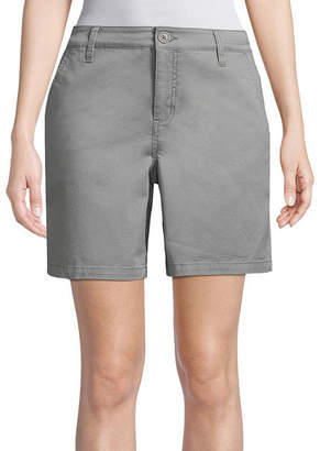 ST. JOHN'S BAY Twill Chino Shorts