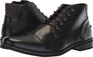 Deer Stags Men's Rhodes Memory Foam Dress Comfort Casual Fashion Cap Toe Chukka Boot Black