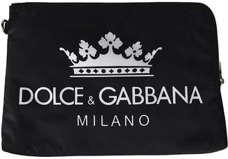 Dolce & Gabbana Logo Print Clutch