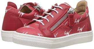 Giuseppe Zanotti Kids Logo Sneaker Kid's Shoes