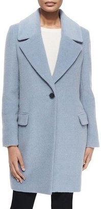 Elie Tahari Wool-Blend One-Button Coat $615 thestylecure.com