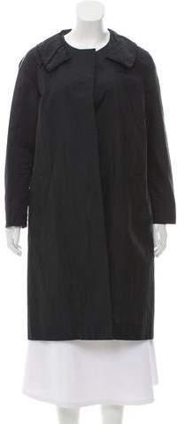 Marni Open Front Satin Coat