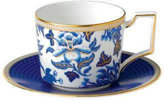 Wedgwood Hibiscus Iconic Teacup and Saucer