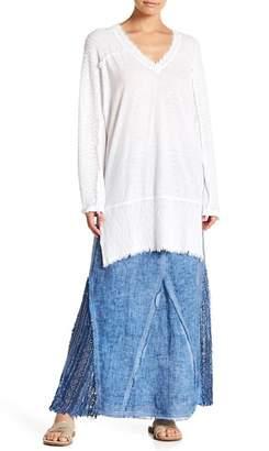 XCVI Hilma Textured Knit V-Neck Pullover