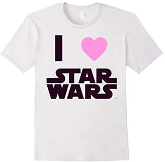 Star Wars Classic I HEART Fanatic True Love Graphic T-Shirt