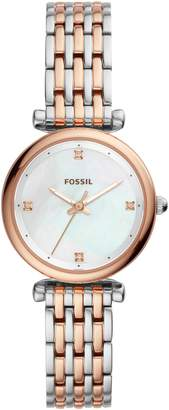 Fossil Mini Carlie Bracelet Watch, 29mm