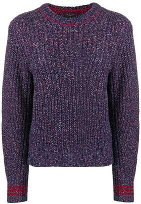 Rag & Bone speckled ribbed sweater