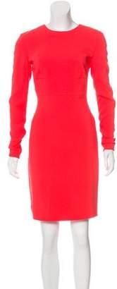 Stella McCartney Long Sleeve Open Back Dress