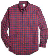 Brooks Brothers (ブルックス ブラザーズ) - ★オンライン限定OUTLET★コットンフランネル チェック スポーツシャツ Regent Fit