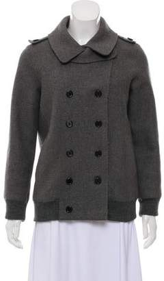 Marc Jacobs Virgin Wool Double-Breasted Coat