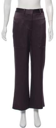 Halston High-Rise Wide-Leg Pants