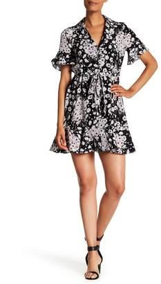 Cinq à Sept Silk Floral Button-Down Dress