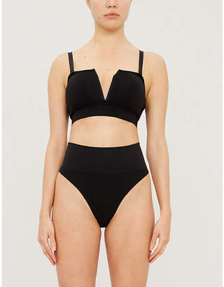Skin Beauty and the Bandeau in cotton-blend