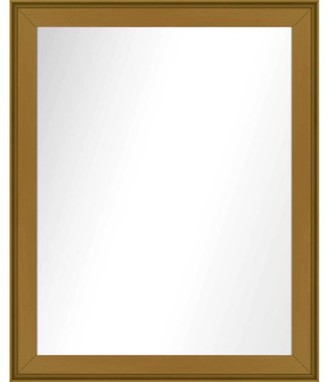 PTM Images Vanity Mirror, Antique Gold, 25.5x31.5