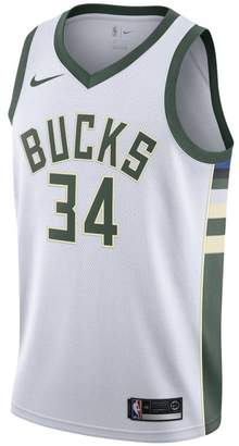 Nike Giannis Antetokounmpo Association Edition Swingman Jersey (Milwaukee Bucks) Men's NBA Connected Jersey