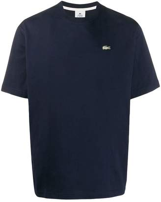 Lacoste Live logo-embroidered T-shirt