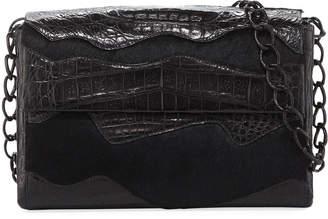 Nancy Gonzalez Madison Small Double-Chain Shoulder Bag