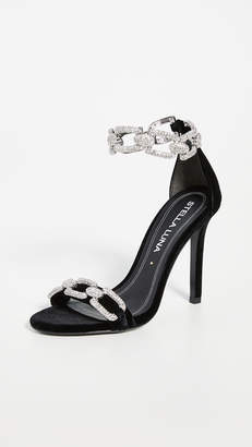 Stella Luna Strass Chain Sandals