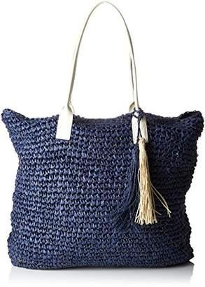 Molly Bracken Women's H94P18 Top-Handle Bag Blue