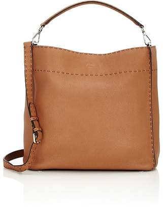 Fendi Women's Selleria Anna Leather Hobo Bag