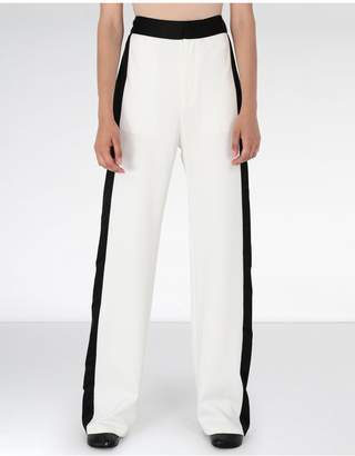 Maison Margiela Suiting Trousers With Edge Stripes