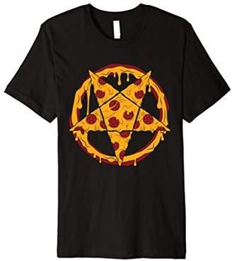 Hail Pizza Pentagram Pepperoni Star Slice T-Shirt