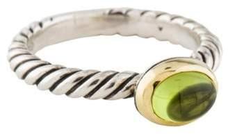 David Yurman Peridot Color Classics Ring