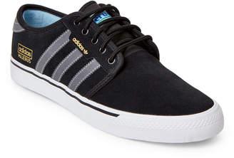 adidas Black & Grey Seeley OG Advantage Skater Sneakers