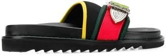 Toga Pulla buckle embellished slides
