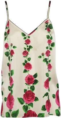 Gucci Rose Garden Print Tank Top