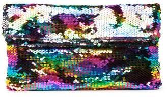 Brasi & Brasi brasi&brasi Rainbow Sequin Clutch